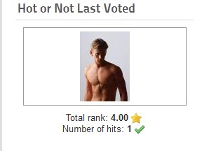 Hot or Not latest Vote